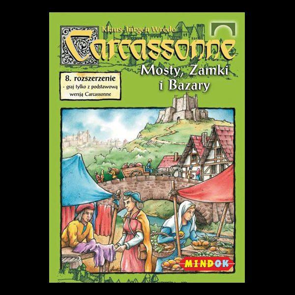 Carcassonne - Mosty, Zamki i Bazary