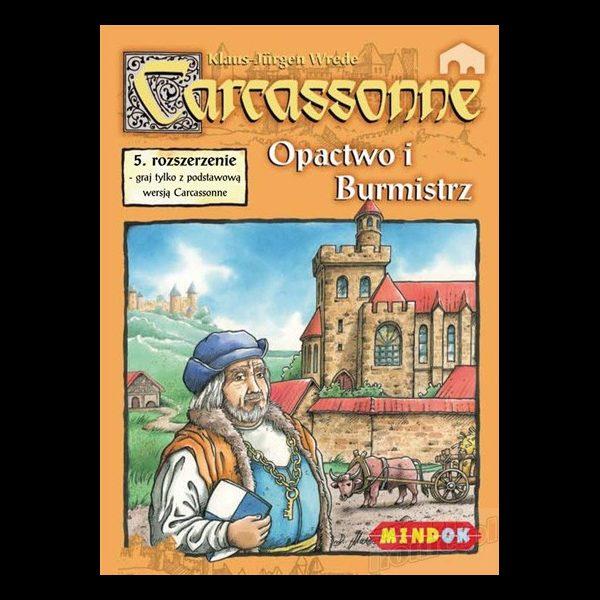 Carcassonne - Opactwo i Burmistrz