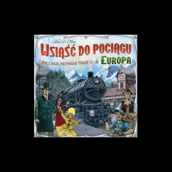 Wsiąść do Pociągu: Europa (do wypożyczenia)