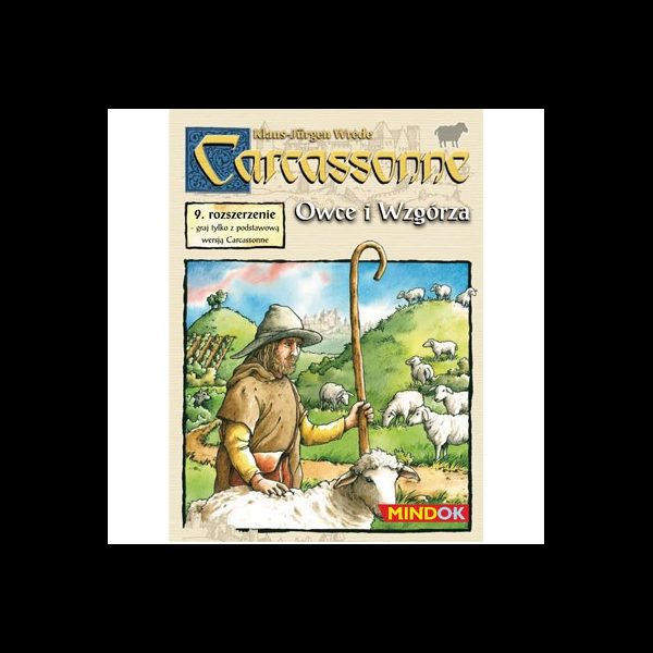 Carcassonne - 9. Owce i Wzgórza